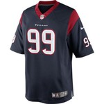 Nike Men's Houston Texans J.J. Watt 99 Limited Jersey - view number 1