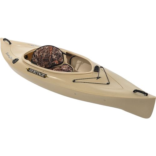 Heritage feather lite angler 9 39 6 sit in fishing kayak for Sit on vs sit in kayak for fishing