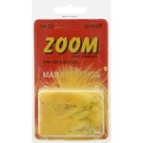 Zoom 1/8 oz. Marabou Jigs 10-Pack