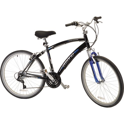 "Ozone 500® Men's Black Canyon 26"" 21-Speed Comfort Bicycle"