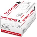 Winchester USA FMJ   .40 Smith & Wesson 165 -Grain 100-round Handgun Ammunition - view number 2