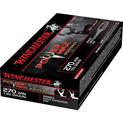 Winchester Super-X Power Max Bonded .270 Winchester 130-Grain Centerfire Rifle Ammunition