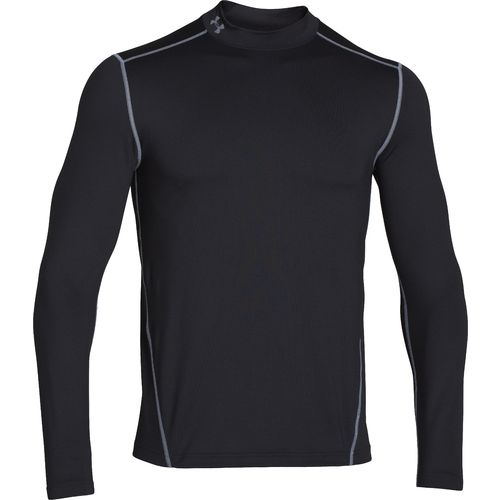 Under Armour  Men s EVO ColdGear  Fitted Mock Neck T-Shirt