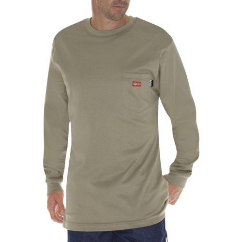 Dickies Men's Flame Resistant Long Sleeve T-shirt