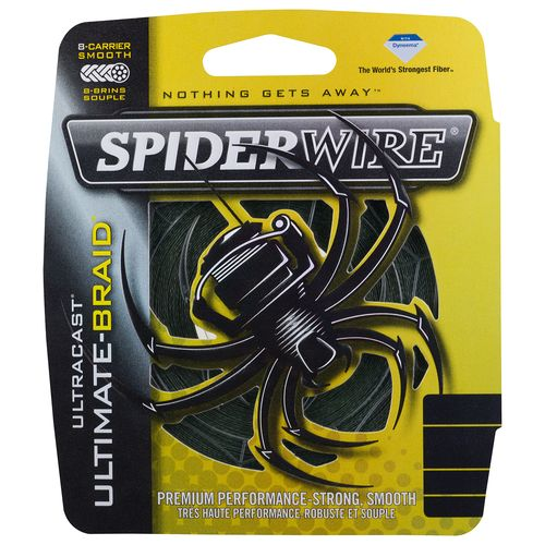 Display product reviews for Spiderwire® Ultracast Ultimate-Braid 125 yards Fishing Line