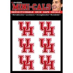"Stockdale University of Houston 4"" x 5"" Mini-Cal Decals 6-Pack"