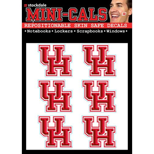 Stockdale University of Houston 4' x 5' Mini-Cal Decals 6-Pack