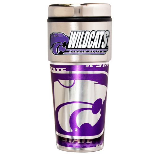 Great American Products Kansas State University 16 oz. Travel Tumbler