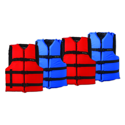 Onyx Outdoor Adults' General Purpose Vests 4-Pack