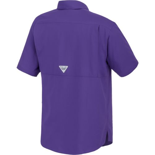 Columbia Sportswear Men's Louisiana State University Low Drag Offshore™ Short Sleeve T-shir