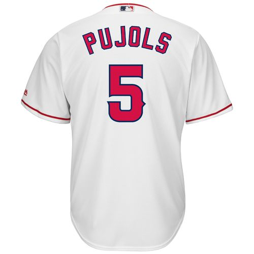 Majestic Men's Los Angeles Angels Albert Pujols #5 Cool Base® Replica Jersey - view number 1
