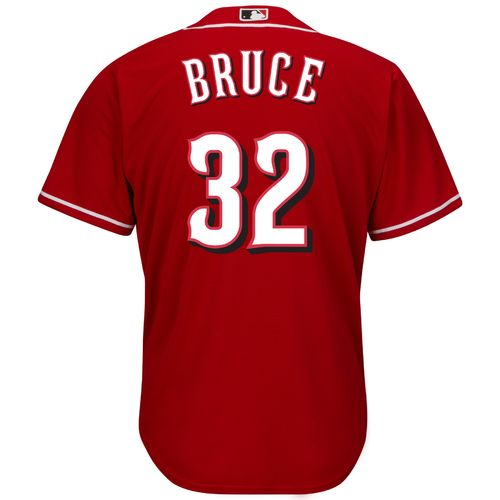 Majestic Men's Cincinnati Reds Jay Bruce #32 Cool Base® Replica Jersey