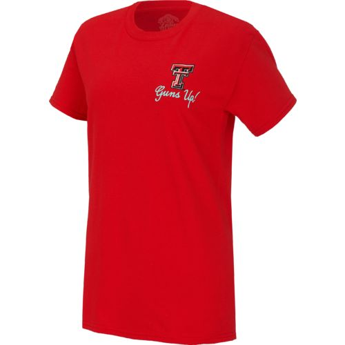 New World Graphics Women's Texas Tech University Bright Bow T-shirt