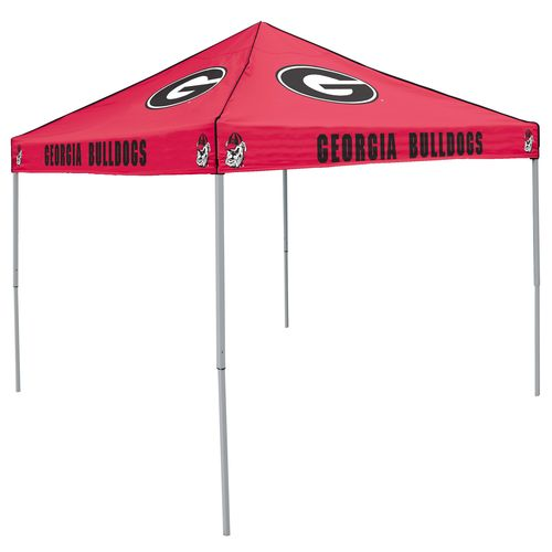 Logo University of Georgia Straight-Leg 9 ft x 9 ft Color Tent
