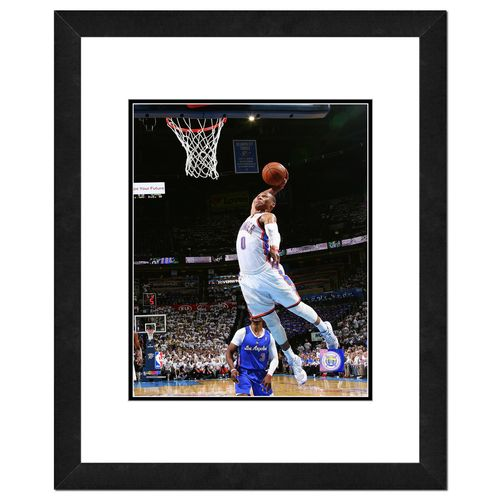 Photo File Oklahoma City Thunder Russell Westbrook 8' x 10' Playoff Action Photo