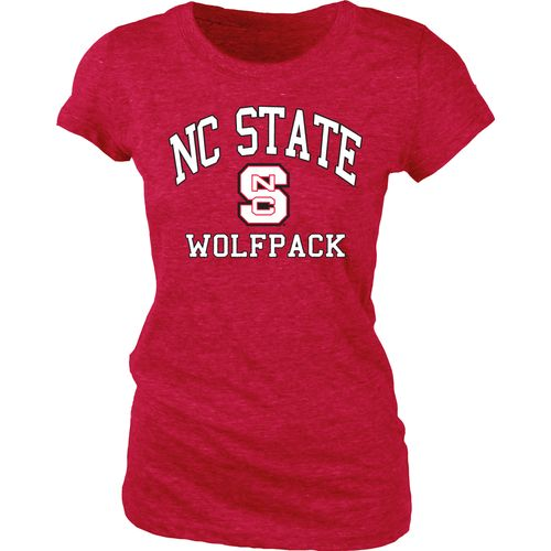 Blue 84 Juniors' North Carolina State University Triblend T-shirt - view number 1