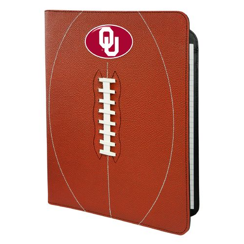 GameWear University of Oklahoma Classic Football Portfolio with Notepad