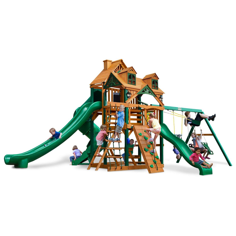 Gorilla Playsets™ Malibu Deluxe II™ Swing Set