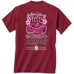 New World Graphics Women's University of Alabama Cuter in Team T-shirt