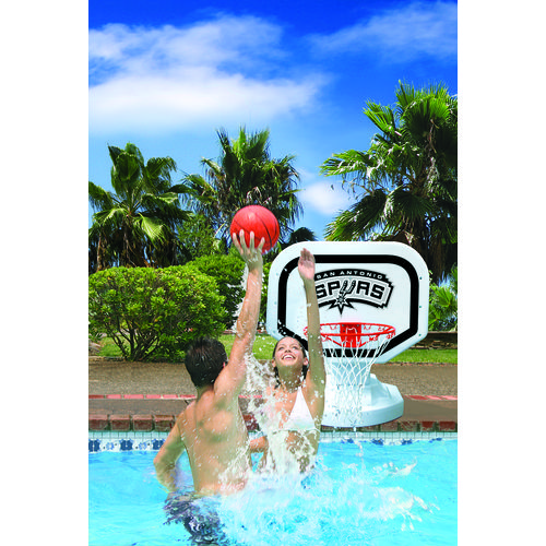 Poolmaster® San Antonio Spurs Competition Style Poolside Basketball Game - view number 2