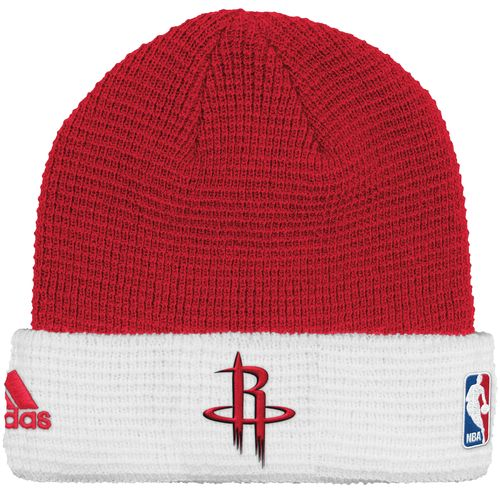 adidas™ Men's Houston Rockets Authentic Team Cuffed Knit Cap