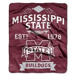 The Northwest Company Mississippi State University Label Raschel Throw - view number 1