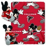 The Northwest Company Atlanta Falcons Minnie Mouse Hugger and Fleece Throw Set