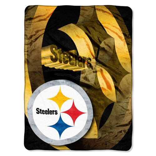 The Northwest Company Pittsburgh Steelers Bevel Micro Raschel Throw