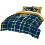 The Northwest Company Georgia Tech Full Comforter and Sham Set
