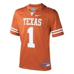 Nike Boys' University of Texas #1 Replica Football Jersey