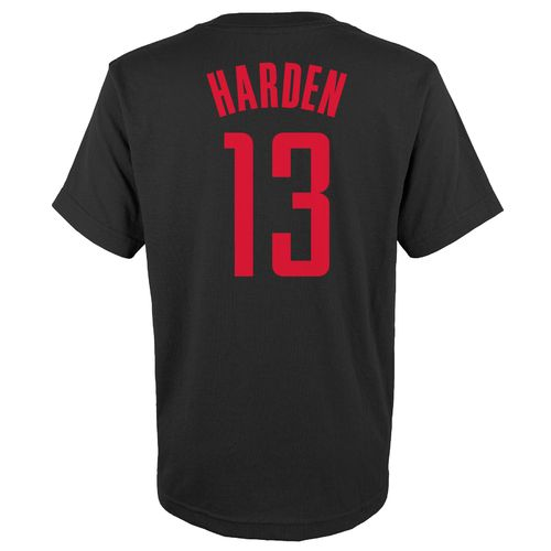 NBA Boys' Houston Rockets James Harden #13 Flat T-shirt
