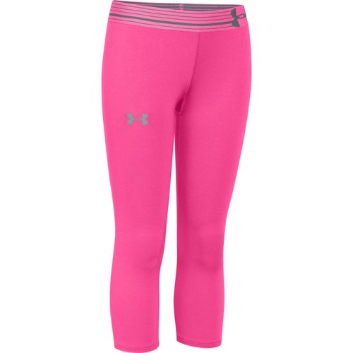 Image for Under Armour® Girls' HeatGear® Sonic Capri Pant from Academy