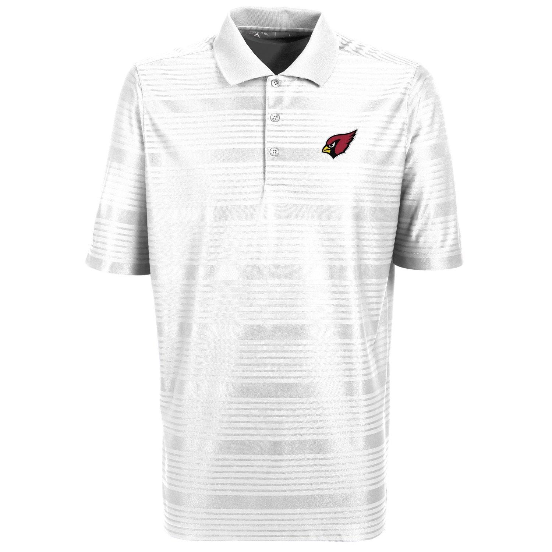 Antigua Men 39 S Arizona Cardinals Illusion Polo Shirt Academy