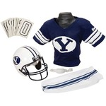 Franklin Kids' Brigham Young University Deluxe Football Uniform Set