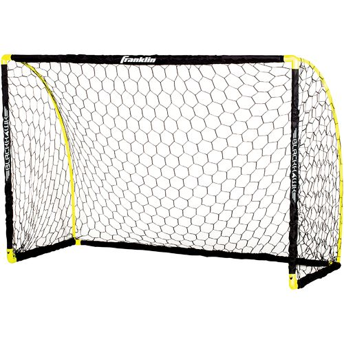 Franklin 4 ft x 6 ft Black Hawk Portable Soccer Goal