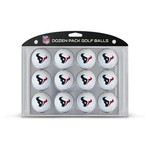 Team Golf Houston Texans Golf Balls 12-Pack
