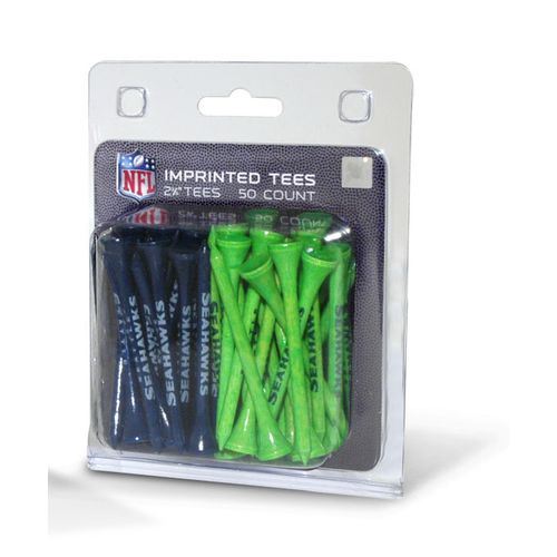 Team Golf Seattle Seahawks Golf Tees 50-Pack