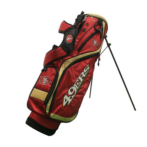 Display product reviews for Team Golf San Francisco 49ers Nassau Stand Golf Bag