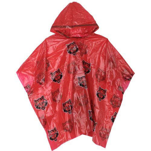 Storm Duds Men's Arkansas State University Lightweight Stadium Rain Poncho