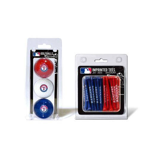Team Golf Texas Rangers Golf Balls and Tees Set - view number 1