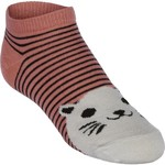 BCG™ Girls' Pattern No-Show Socks 6-Pack