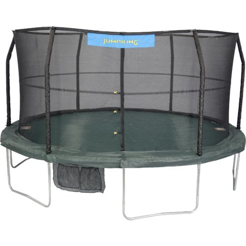 Jumpking 14' Round Trampoline with Enclosure - view number 1