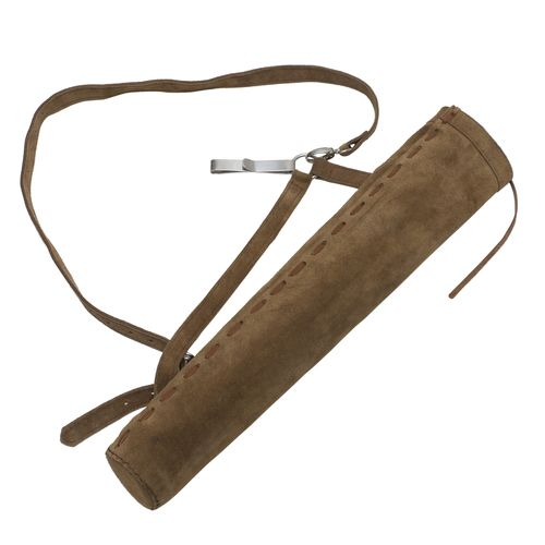 October Mountain Products Traditional Suede Hip/Back Quiver