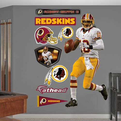 Fathead Washington Redskins Robert Griffin III Away Real Big Wall Decal