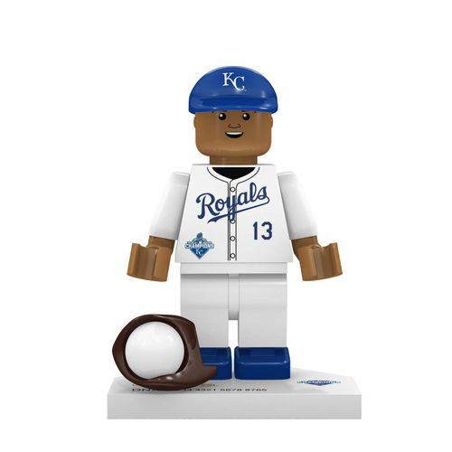 OYO Sports Kansas City Royals Salvador Perez World Series Champions Minifigure
