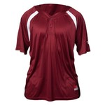 Louisville Slugger Adults' 2-Button Henley Game Jersey