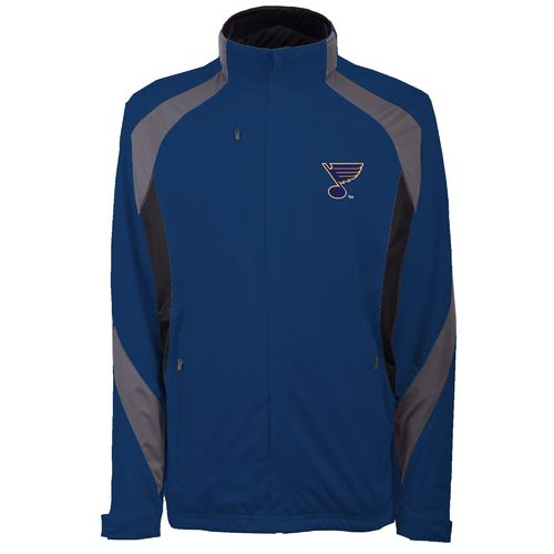 Antigua Men's St. Louis Blues Tempest Full Zip Jacket