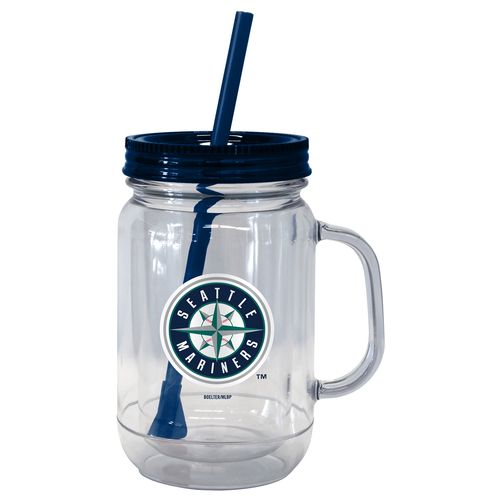 Boelter Brands Seattle Mariners 20 oz. Handled Straw Tumblers 2-Pack
