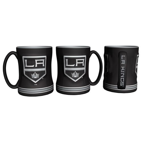 Boelter Brands Los Angeles Kings 14 oz. Relief Mugs 2-Pack