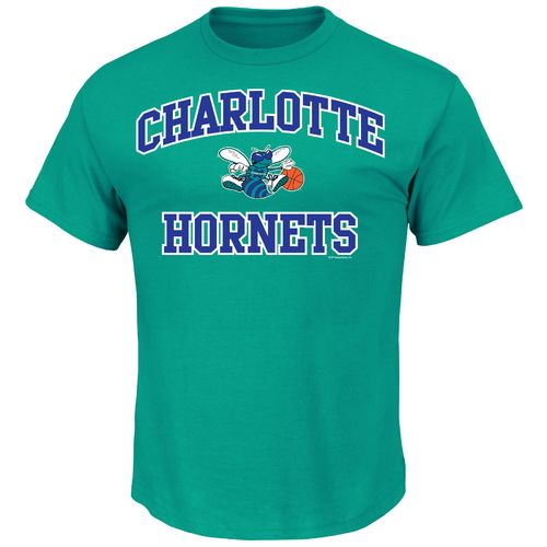 Majestic Men's Charlotte Hornets Hardwood Classics Heart and